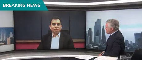 KlearNow CEO Sam Tyagi Live interview Ian King on Live News